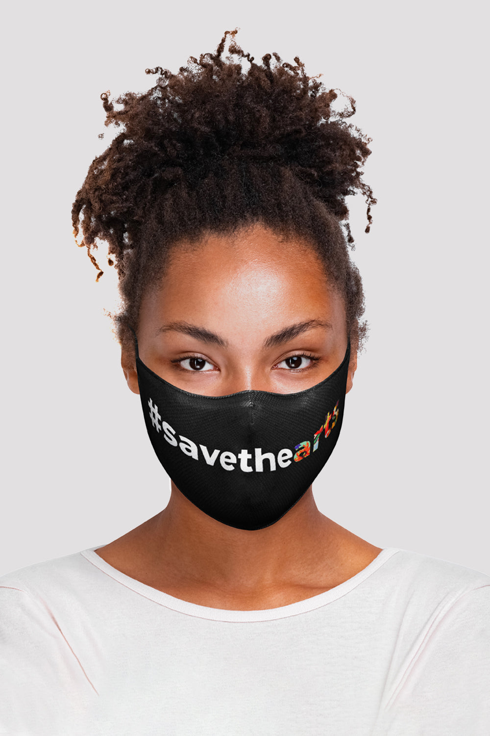 BLOCH B-Safe Save The Arts Face Mask