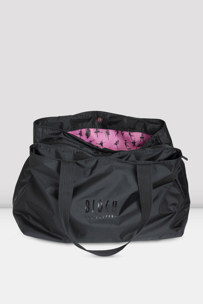 Multi-Compartment Tote Bag