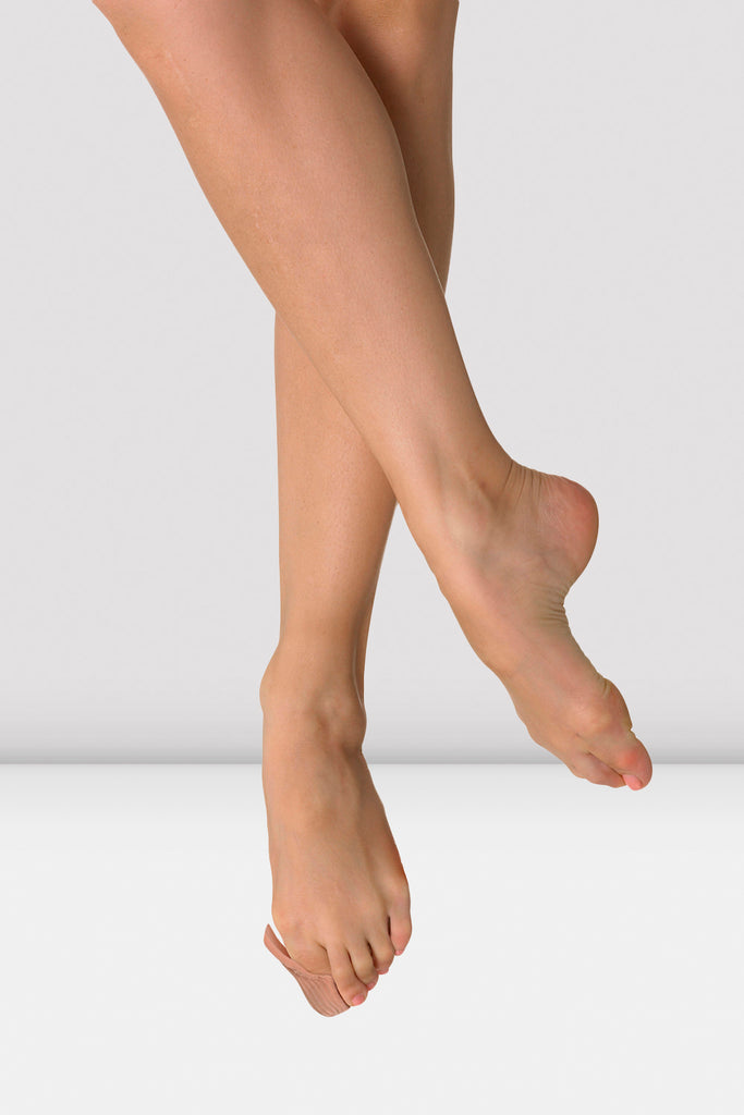 Nude Bloch Bunion Guard on foot