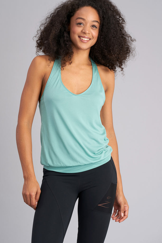 Flutter Racer Back Top