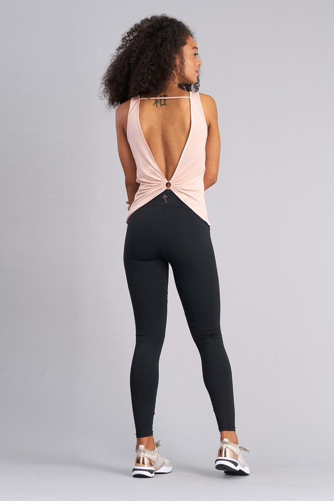 Arabesque V-Back Top