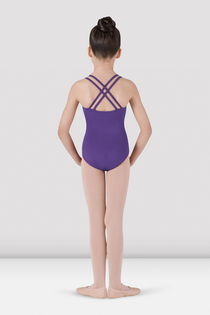 Girls Dolly Plain Camisole Leotard