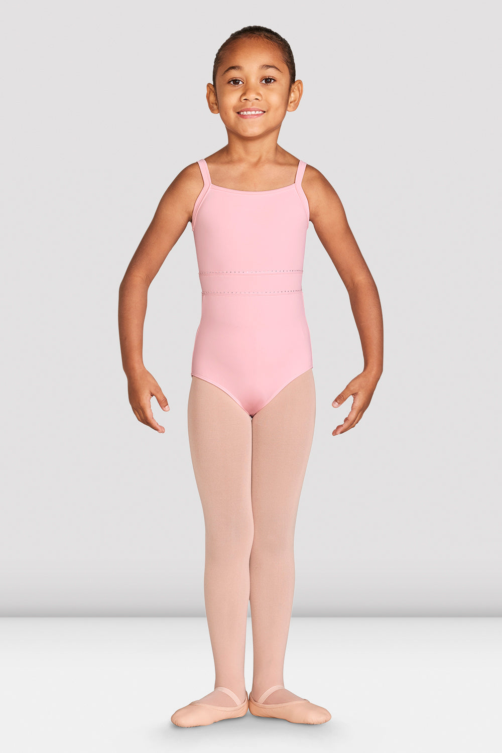 Girls Ryli Mesh Back Camisole Leotard