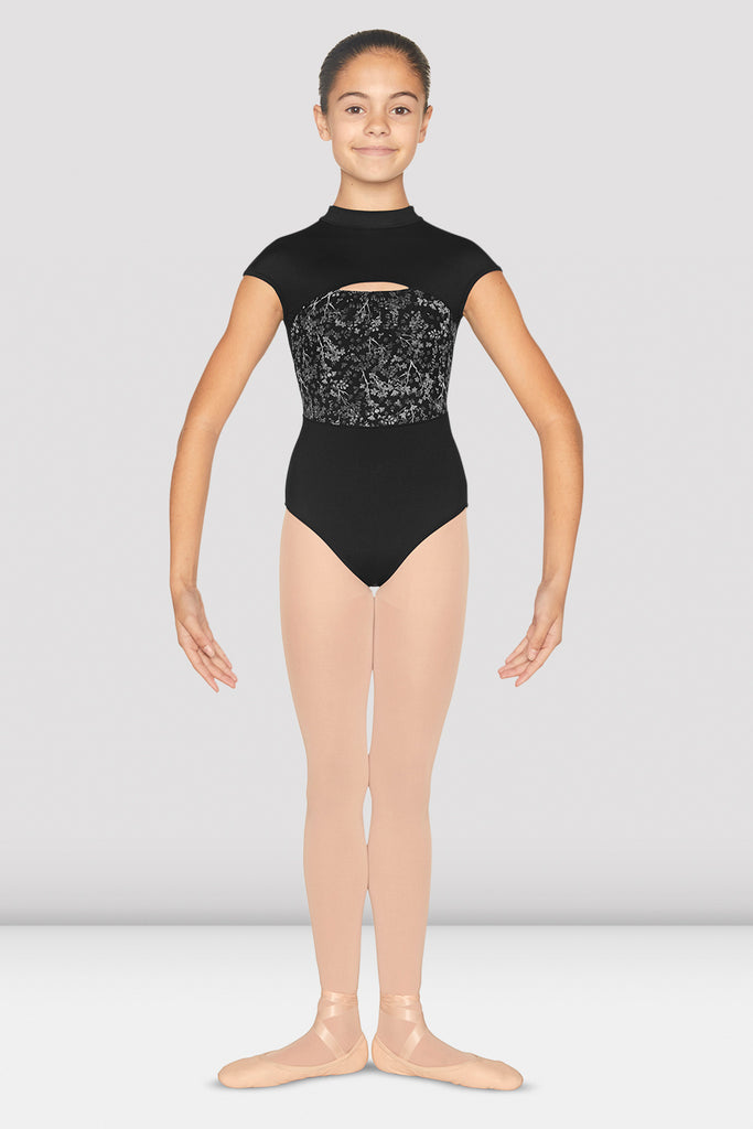 Girls Katya Cap Sleeve Leotard
