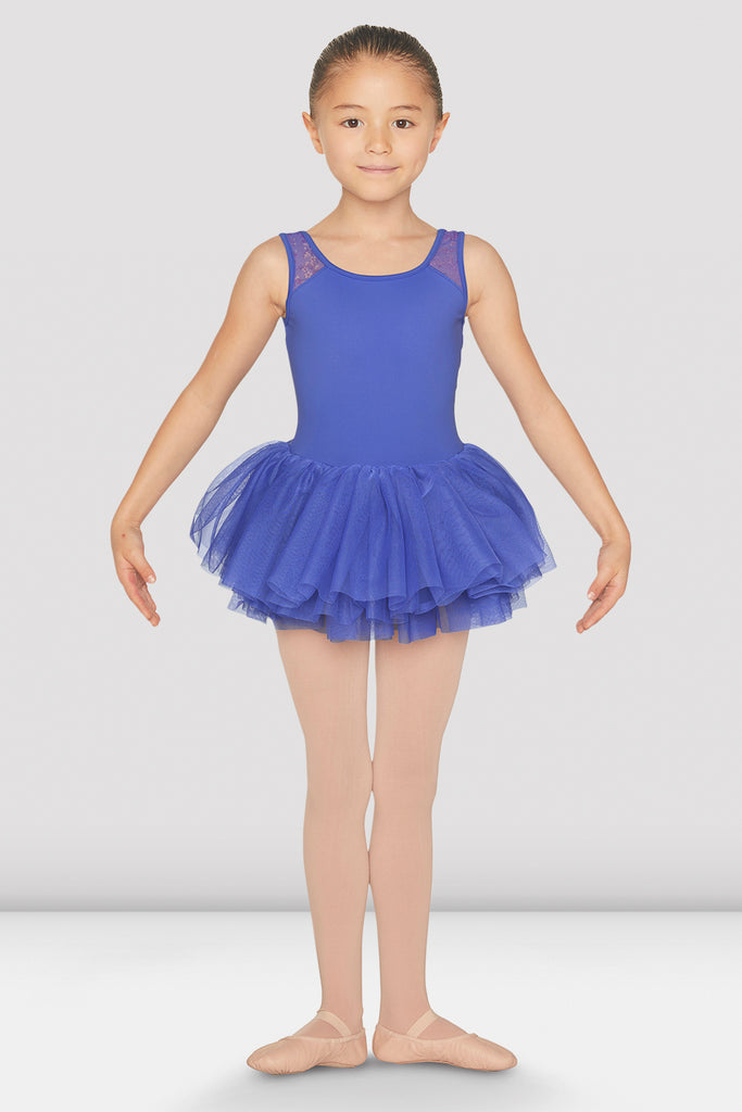 Girls Clementina Tutu Tank Leotard