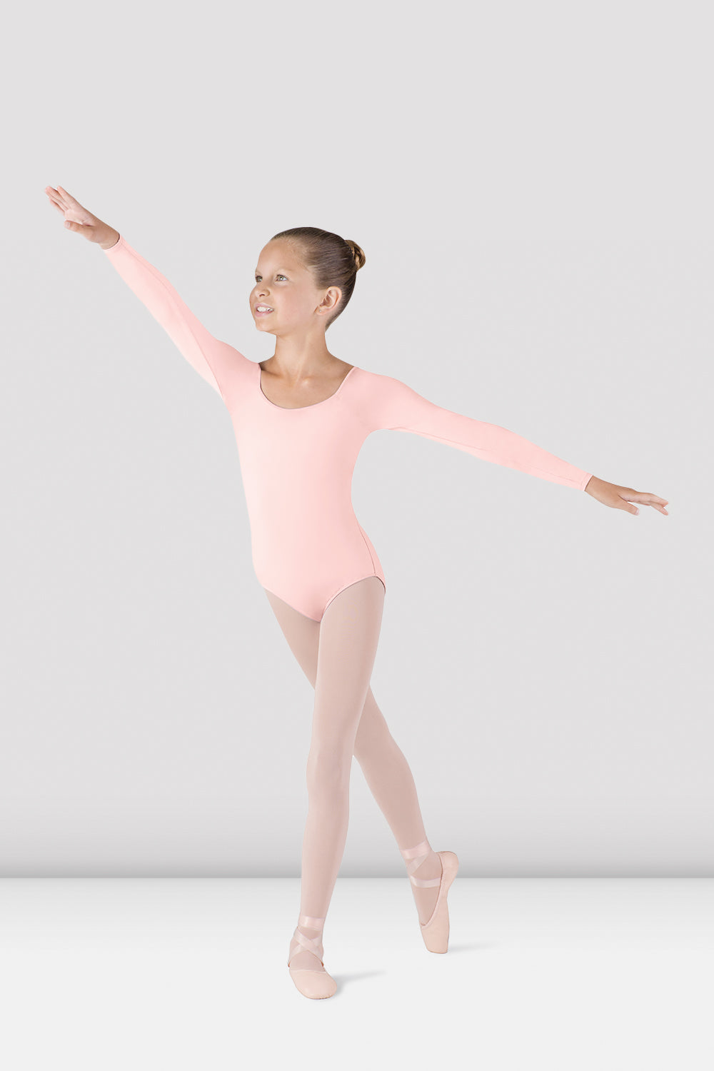 Girls Meglio Long Sleeve Leotard