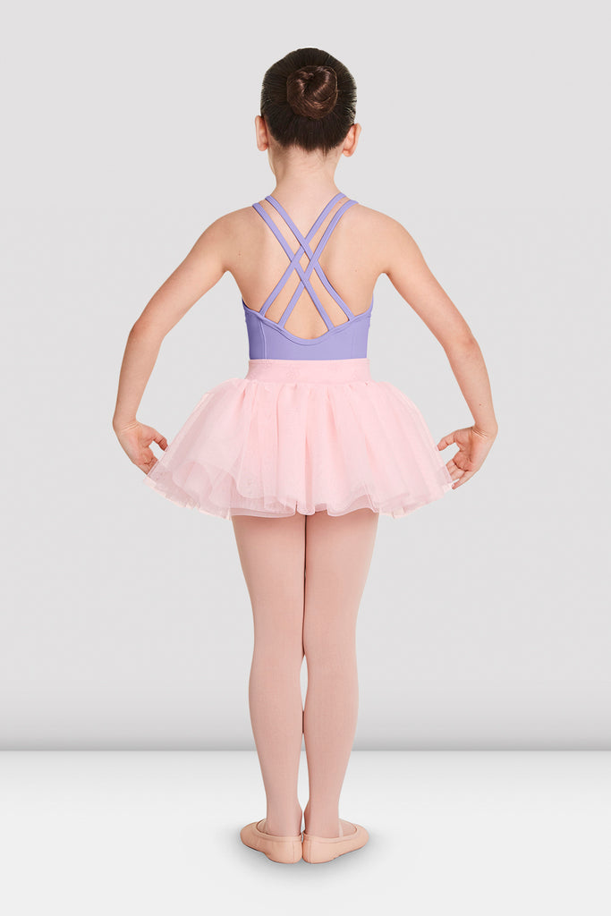 Girls Chika Cross Back Leotard