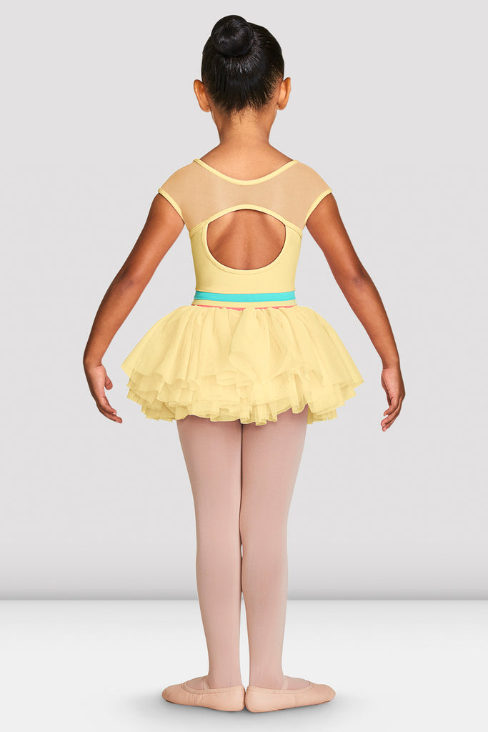 Girls Mabel Cap Sleeve Tutu Leotard