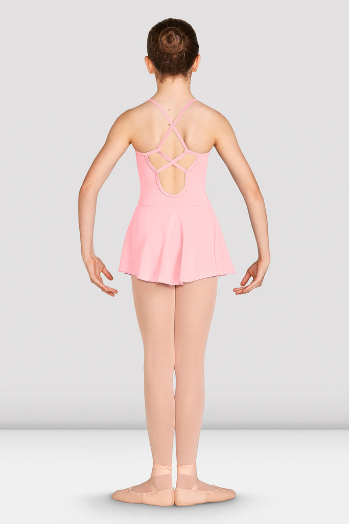 Girls Alegra Skirted Camisole Leotard