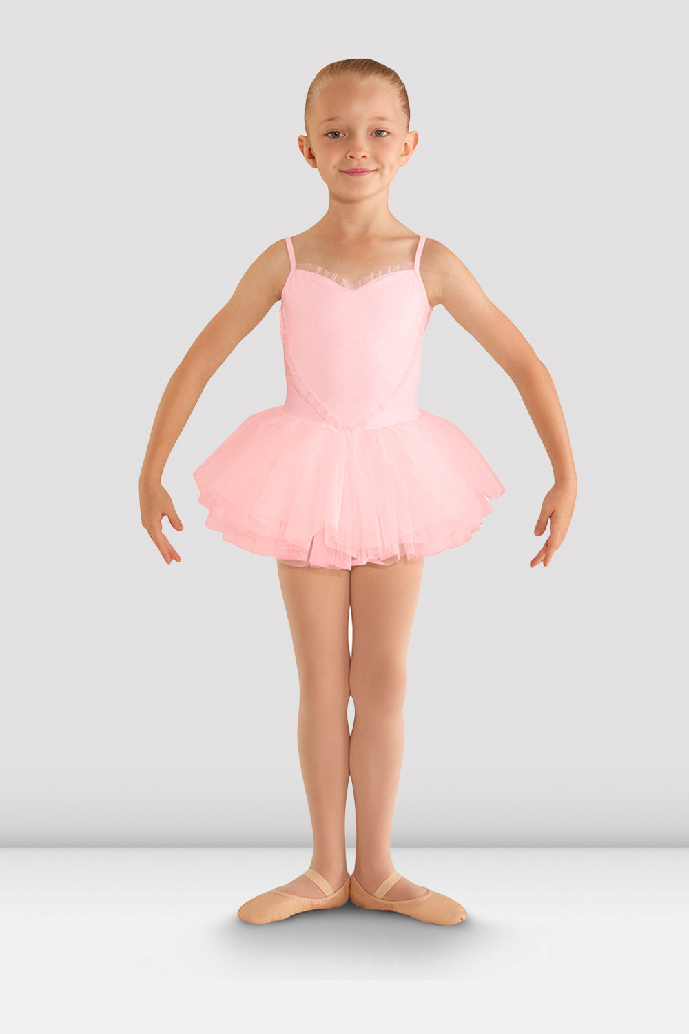 Girls Valentine Tutu Leotard