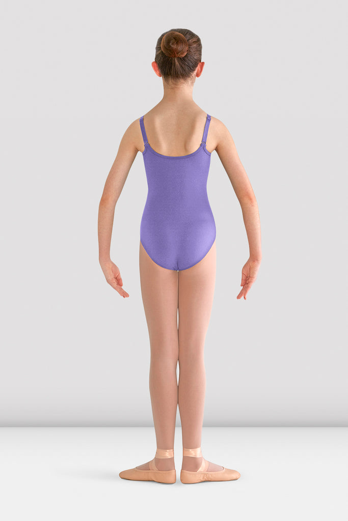Girls Pranay Adjustable Strap Leotard