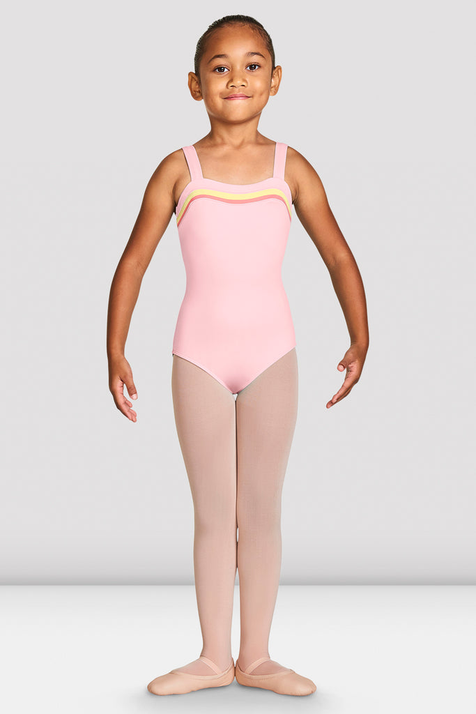 Girls Teagan Sweetheart Wide Strap Leotard