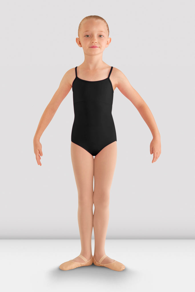 Girls Vehement Bow Back Leotard