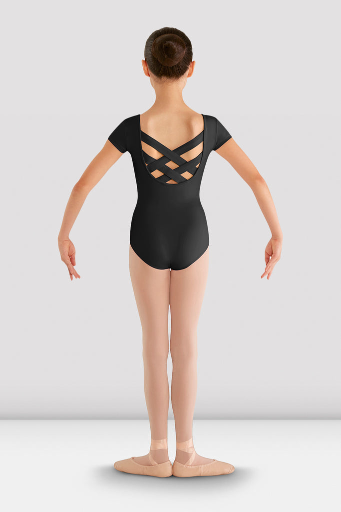 Girls Bellflower Crossback Leotard