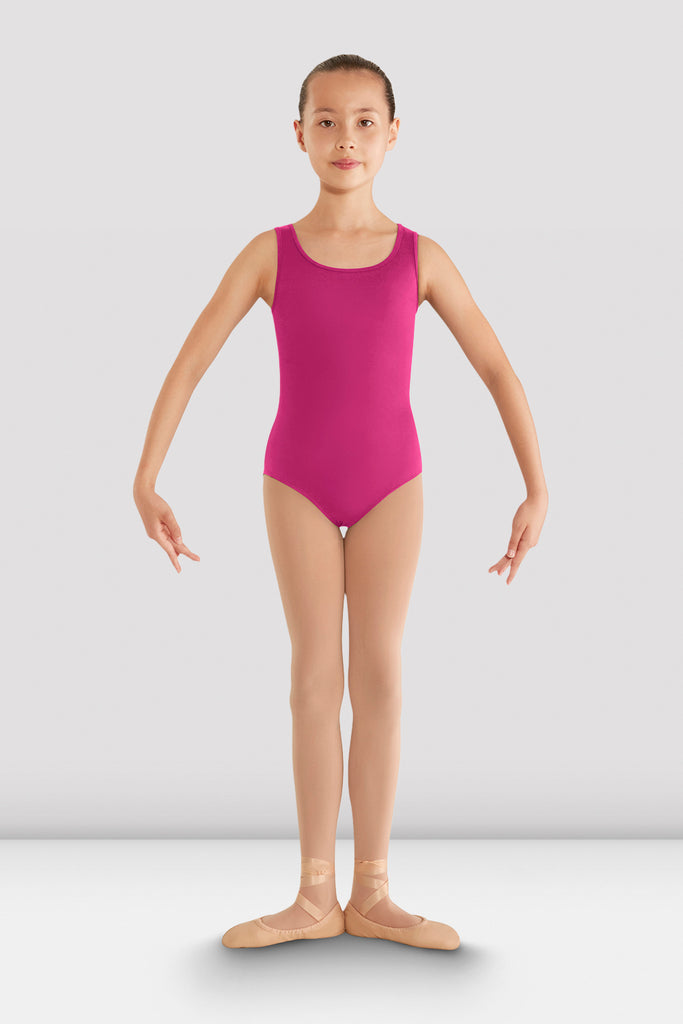 Girls Gladiolus Diamond Back Leotard