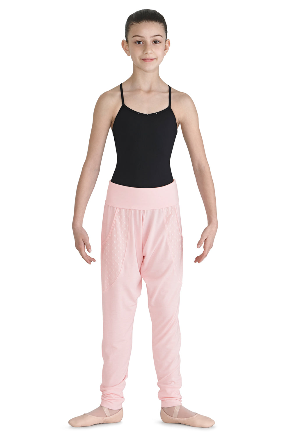 Girls Maonife Heart Mesh Harem Pants