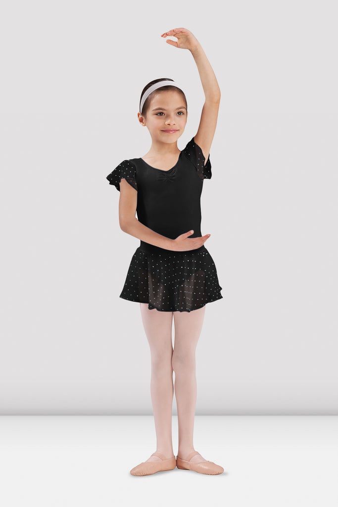 Girls Olesia Georgette Sequin Skirt