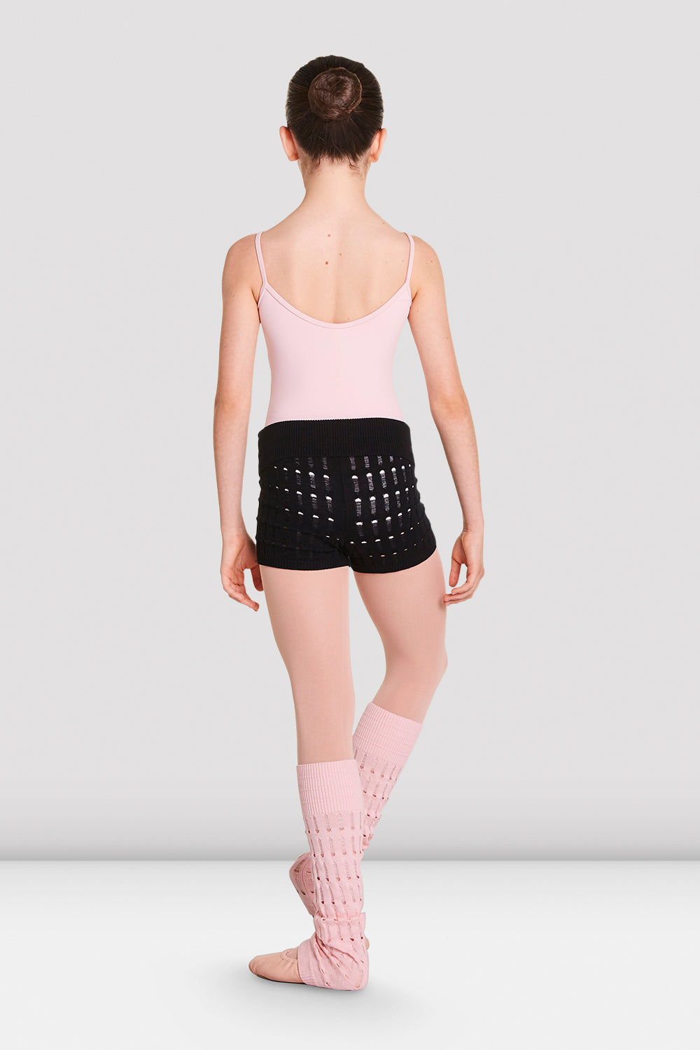 Girls Nora Knitted Warm-Up Shorts