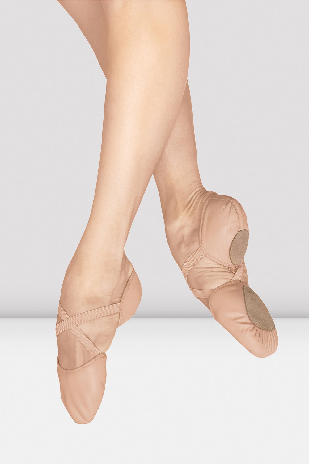Ladies Elastosplit Canvas Ballet Shoes