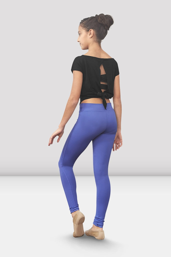Iris Bloch Girls Kaylei Stirrup Legging on female model left level beveled facing upstage right