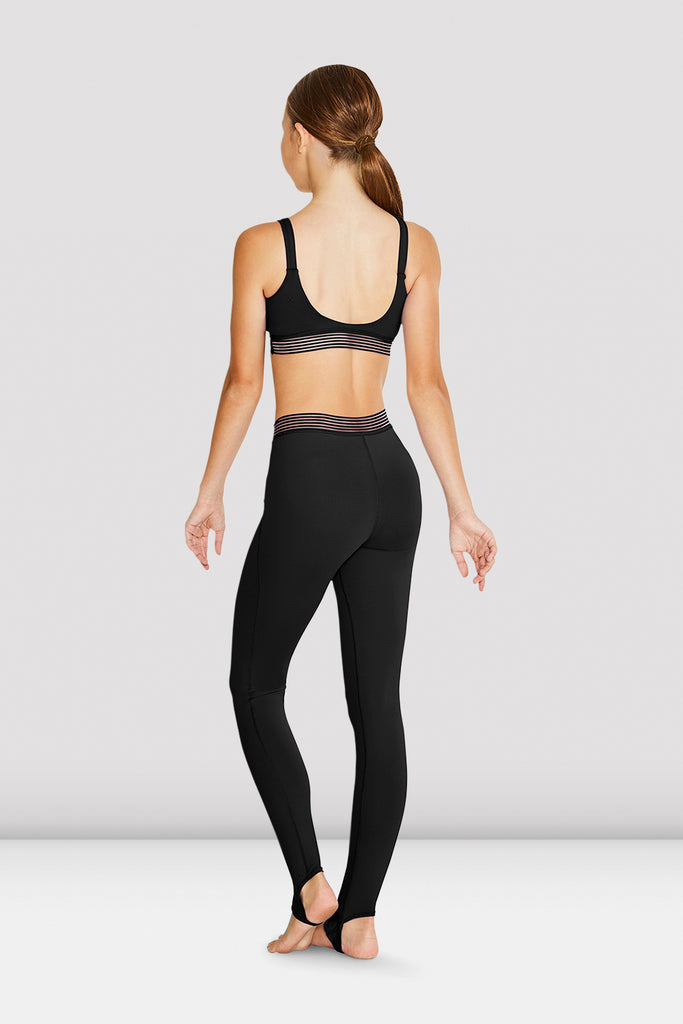 Girls Desmina Stirrup V Waist Legging