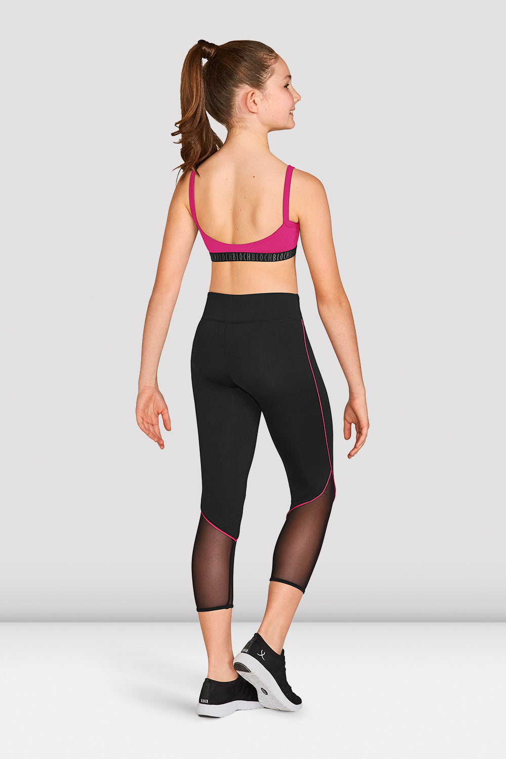 Girls Bloch Scoop Back Crop Top