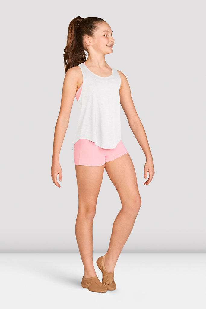 Girls Mesh Tie Back Tank Top