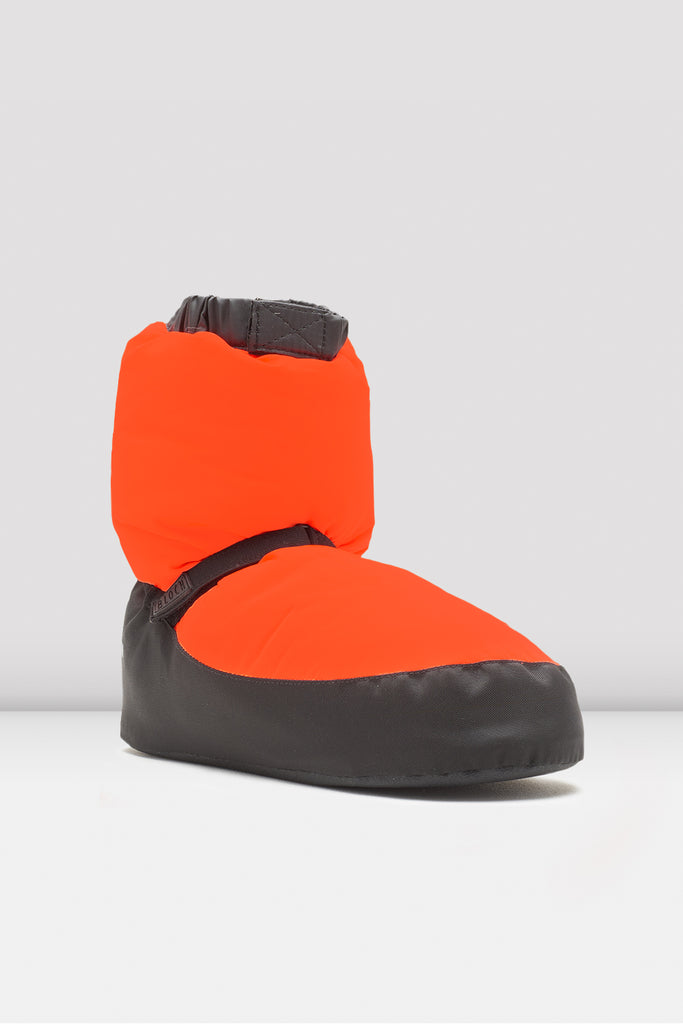Orange Adult Warm Up Booties