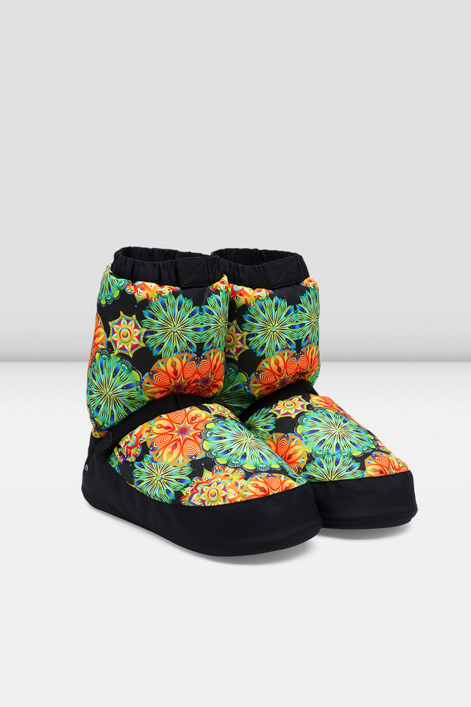 Kaleidoscope Floral Warm Up Bootie