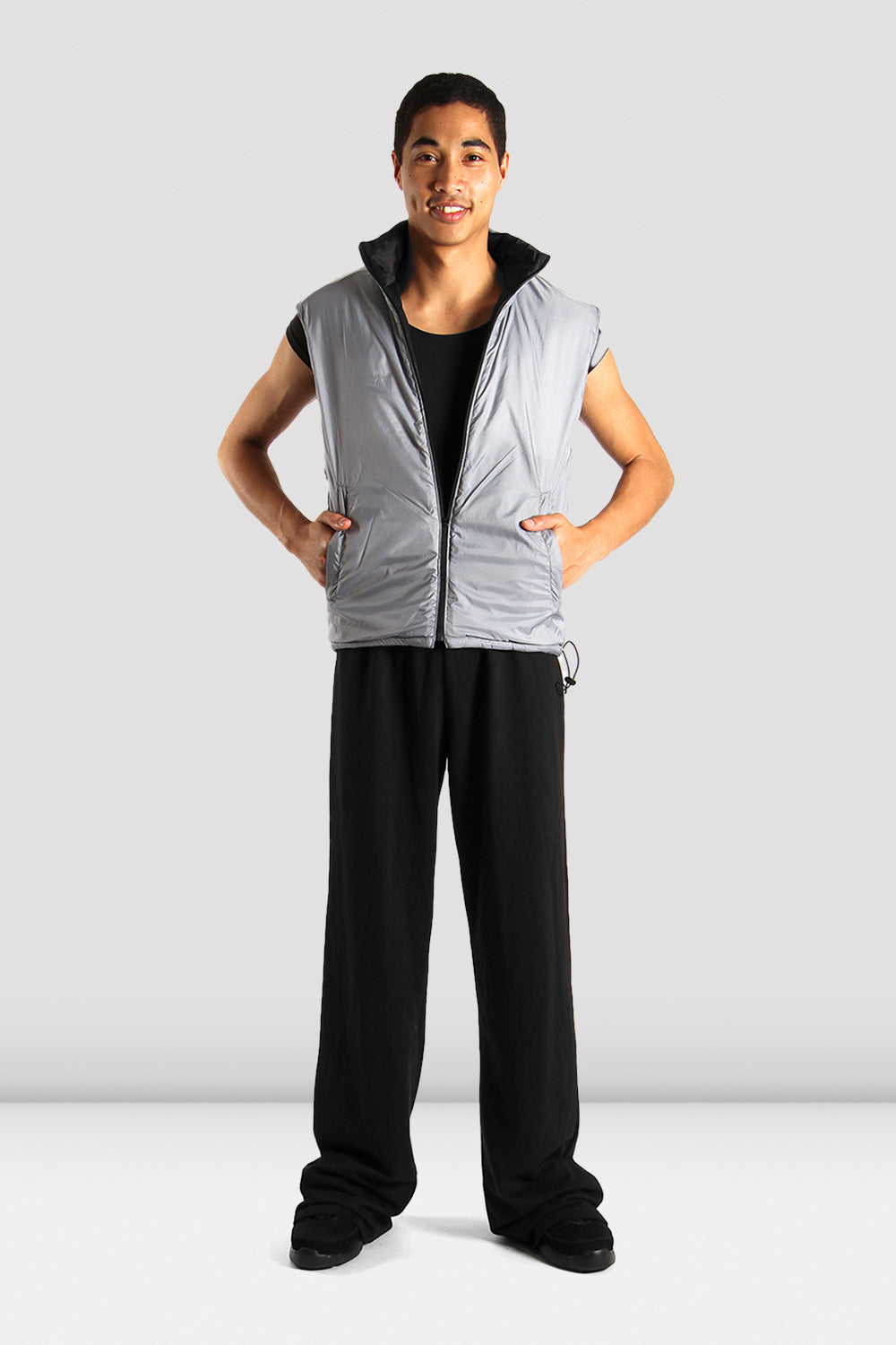Mens Reversible Warm Up Vest