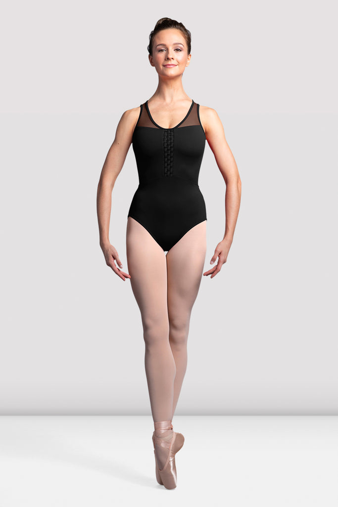 Ladies Amita Mesh Back Tank Leotard