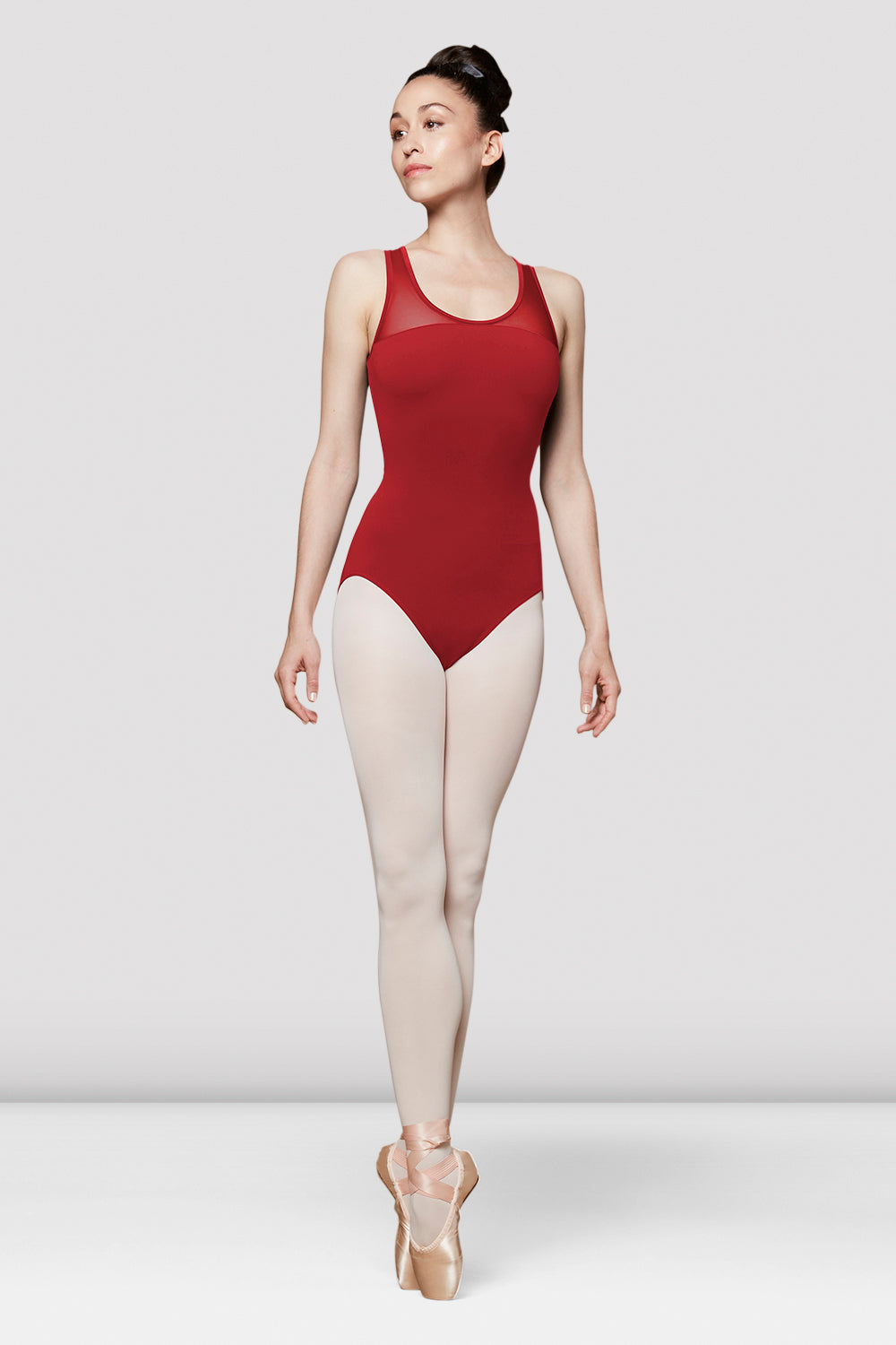 Ladies Alya Mesh Back Tank Leotard