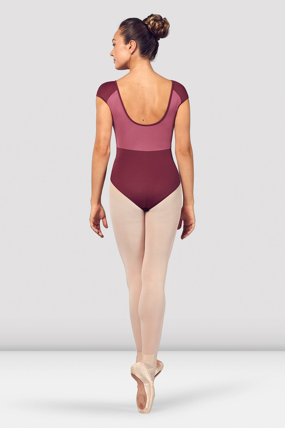 Ladies Dhara Scoop Back Cap Sleeve Leotard