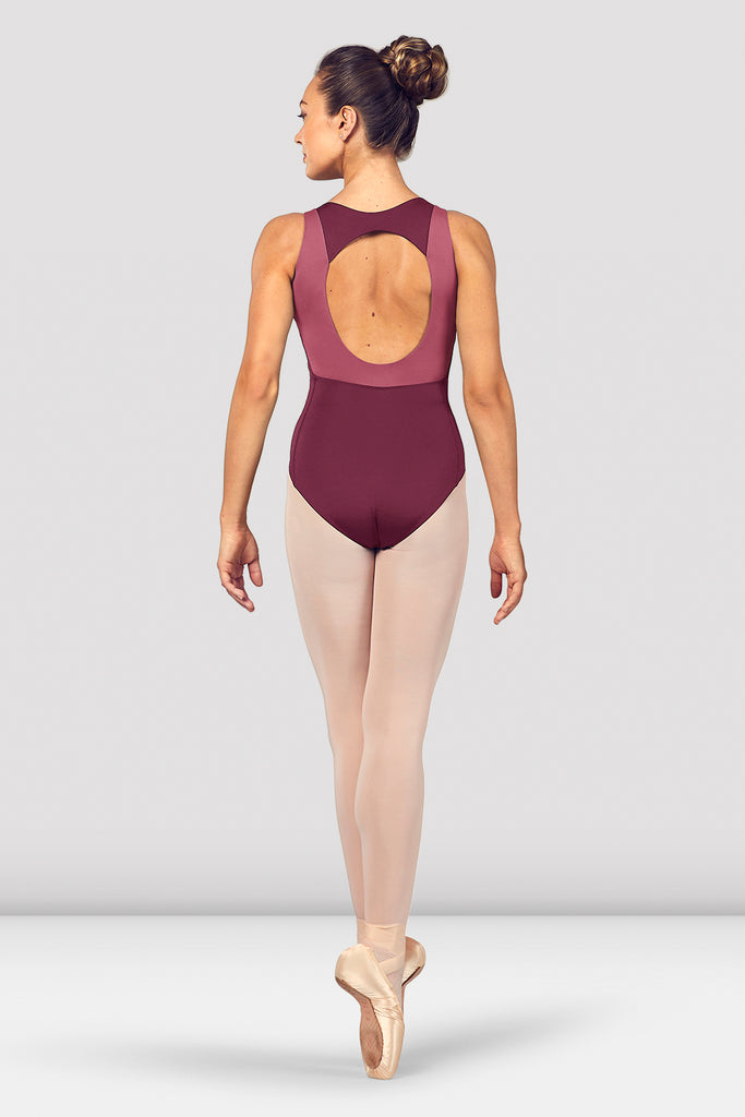 Ladies Esrah Open Back Tank Leotard