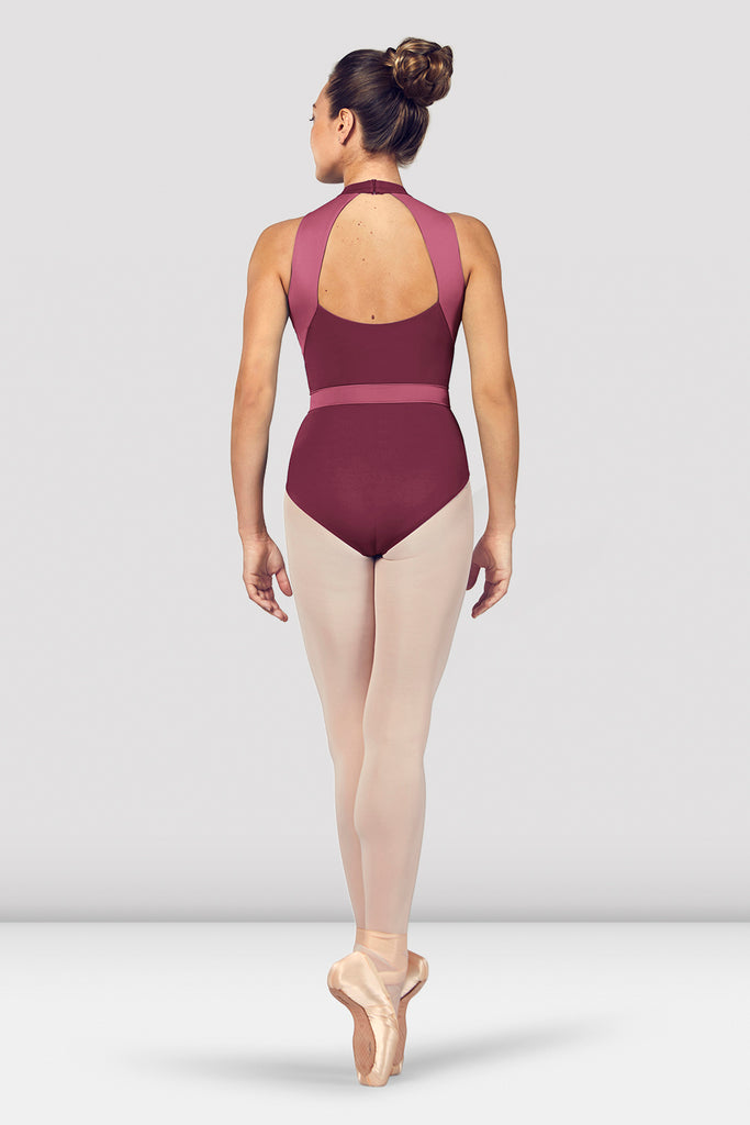 Ladies Alia Halter Neck Open Back Leotard
