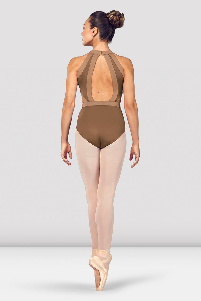 Ladies Shreya Halter Neck Open Back Leotard