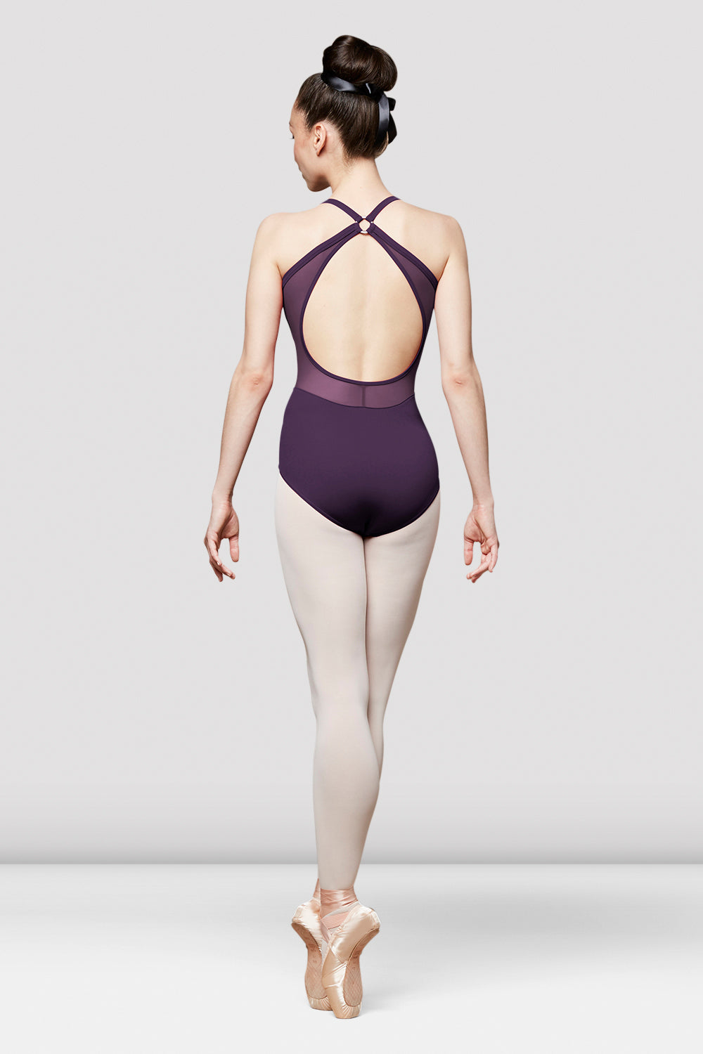 Ladies Sidra Camisole Cross Back Leotard