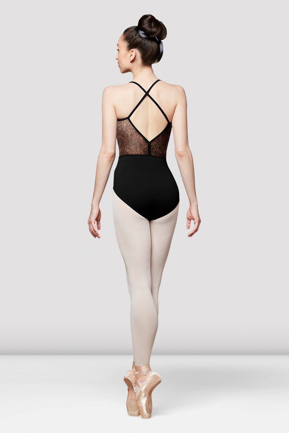 Ladies Saskia Open Back Camisole Leotard