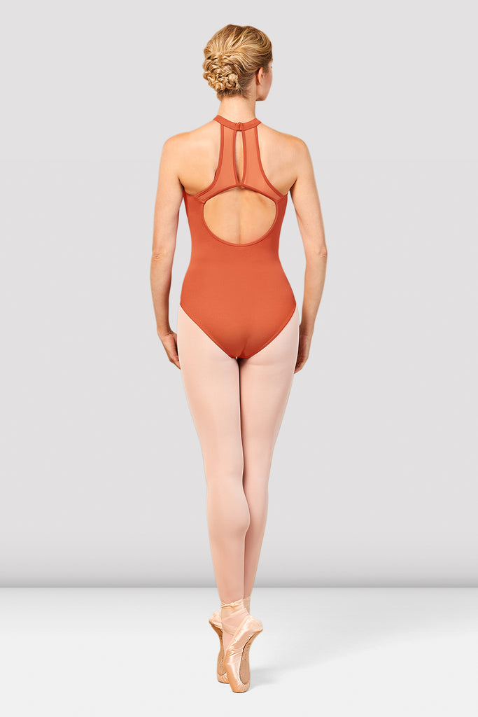 Ladies Nala Halter Neck Open Back Leotard