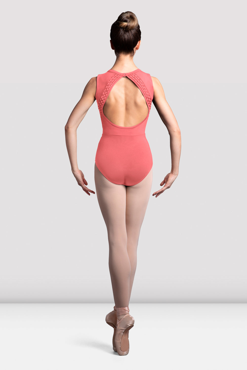 Ladies Boutique Weave Trim Tank Leotard