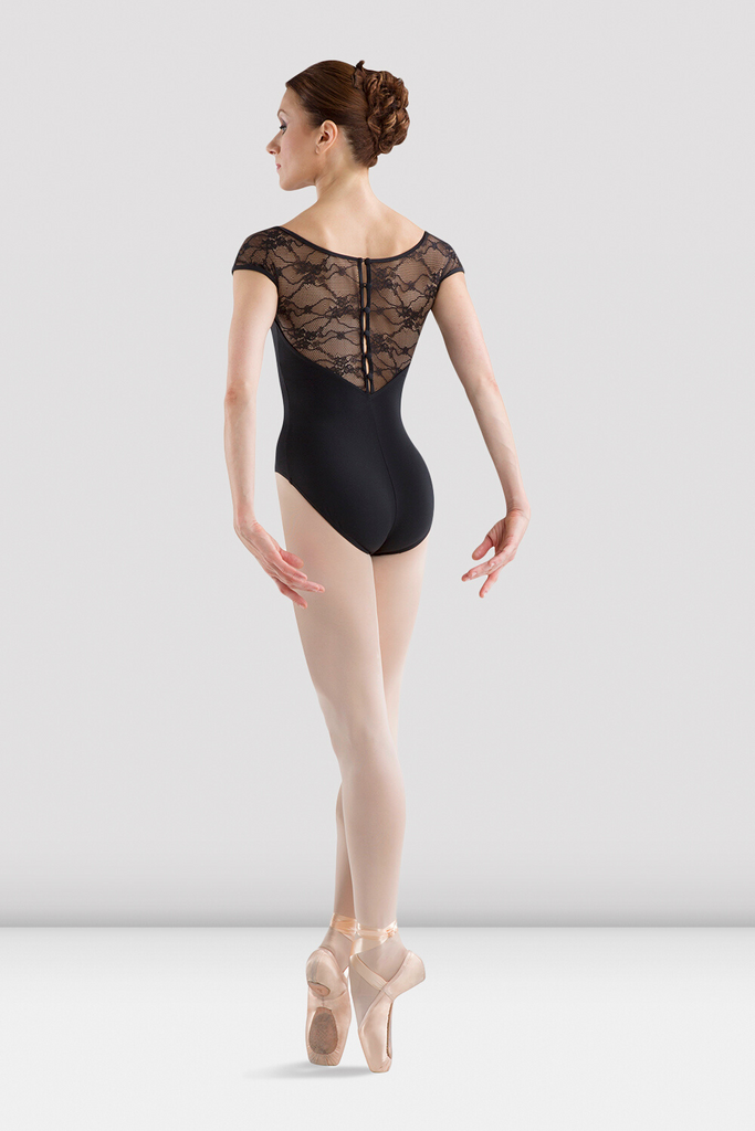 Ladies Chiwa Button Back Leotard