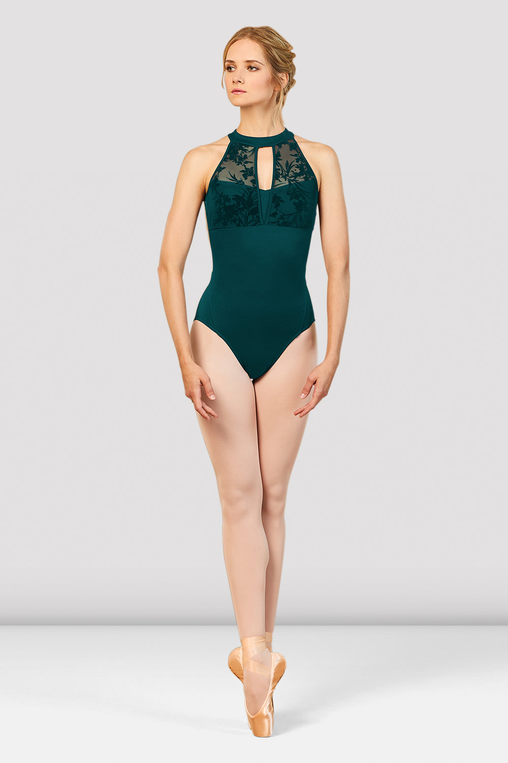 Ladies Aero Halter Neck Open Back Leotard