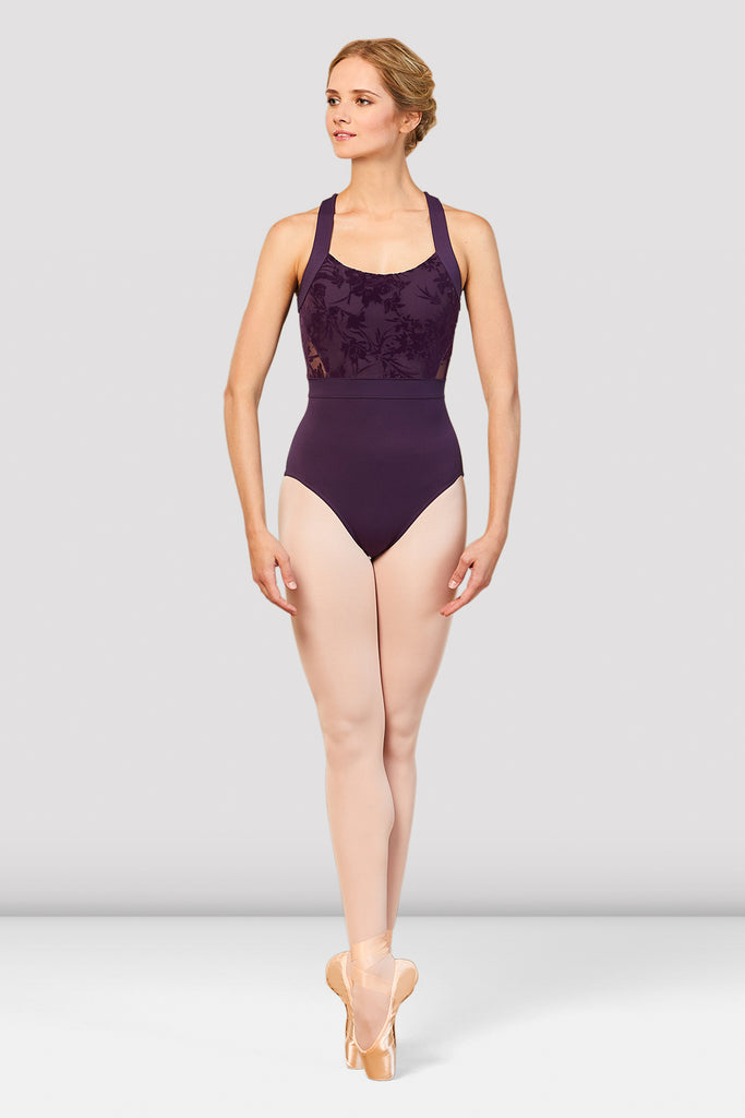 Ladies Sabel Wide Strap Leotard