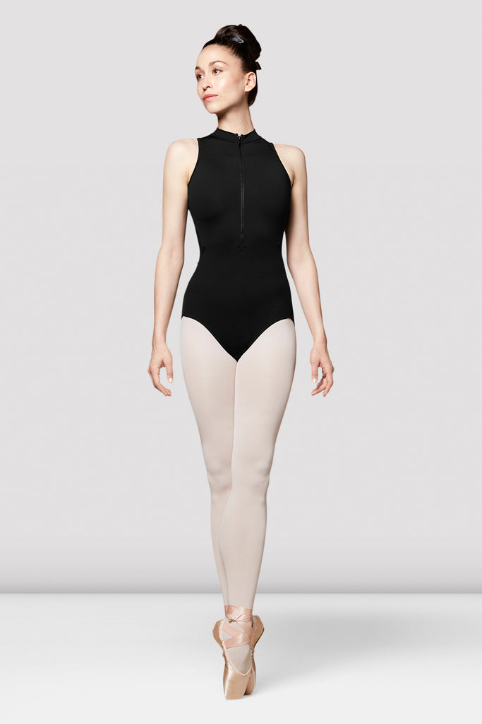 Ladies Kato Mesh Back Sleeve Leotard