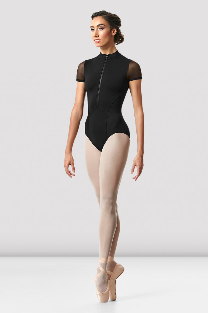 Ladies Gwenn Cap Sleeve Leotard
