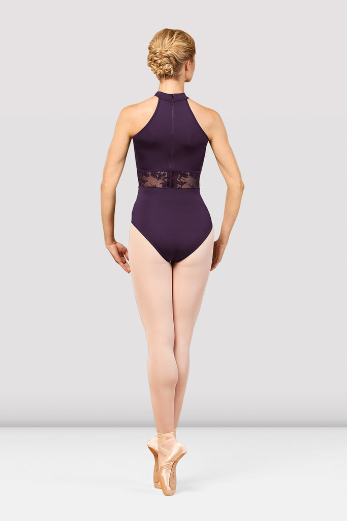 Ladies Boutique High Neck Leotard