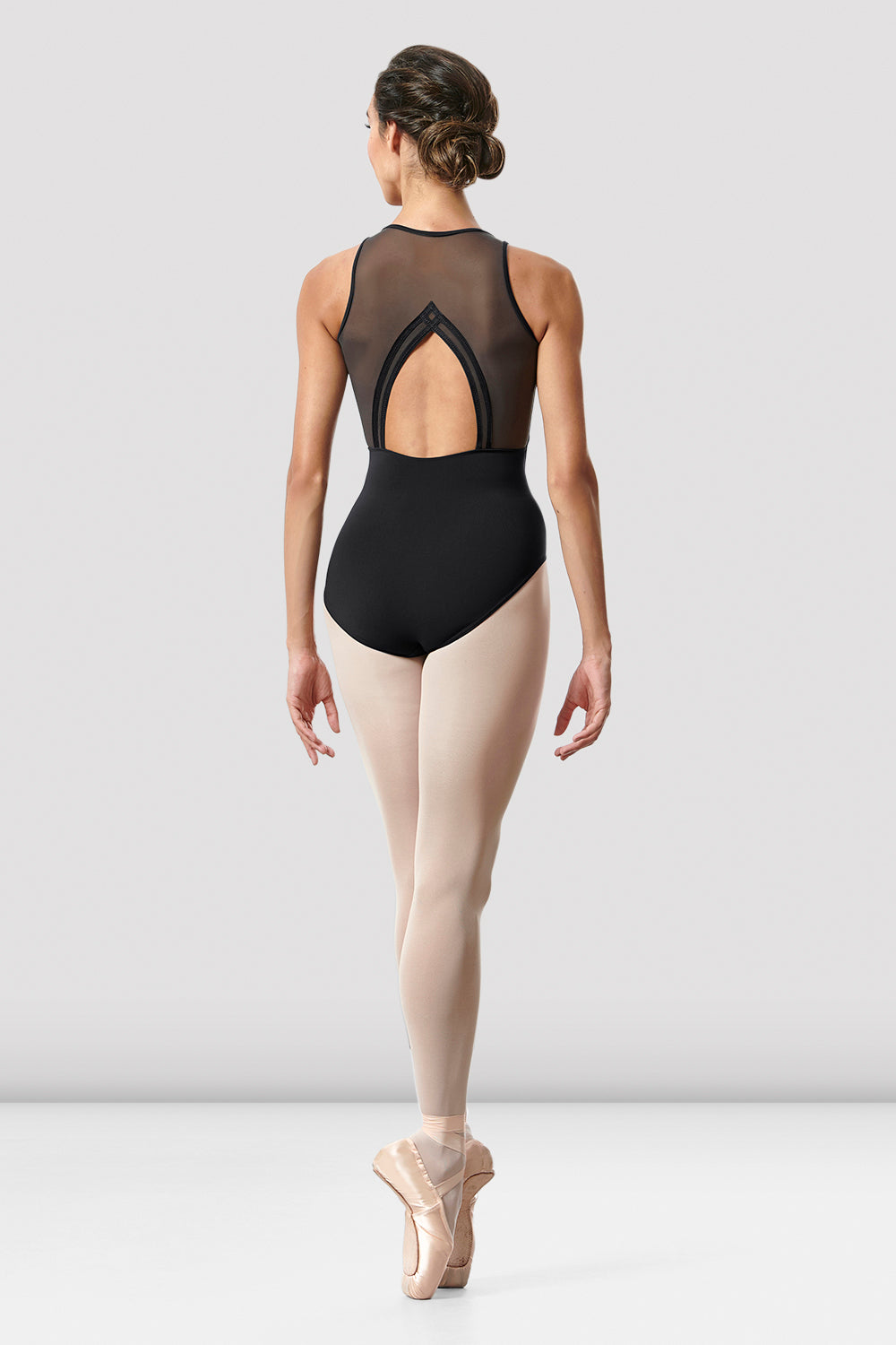 Ladies Arrosa Open Back Leotard