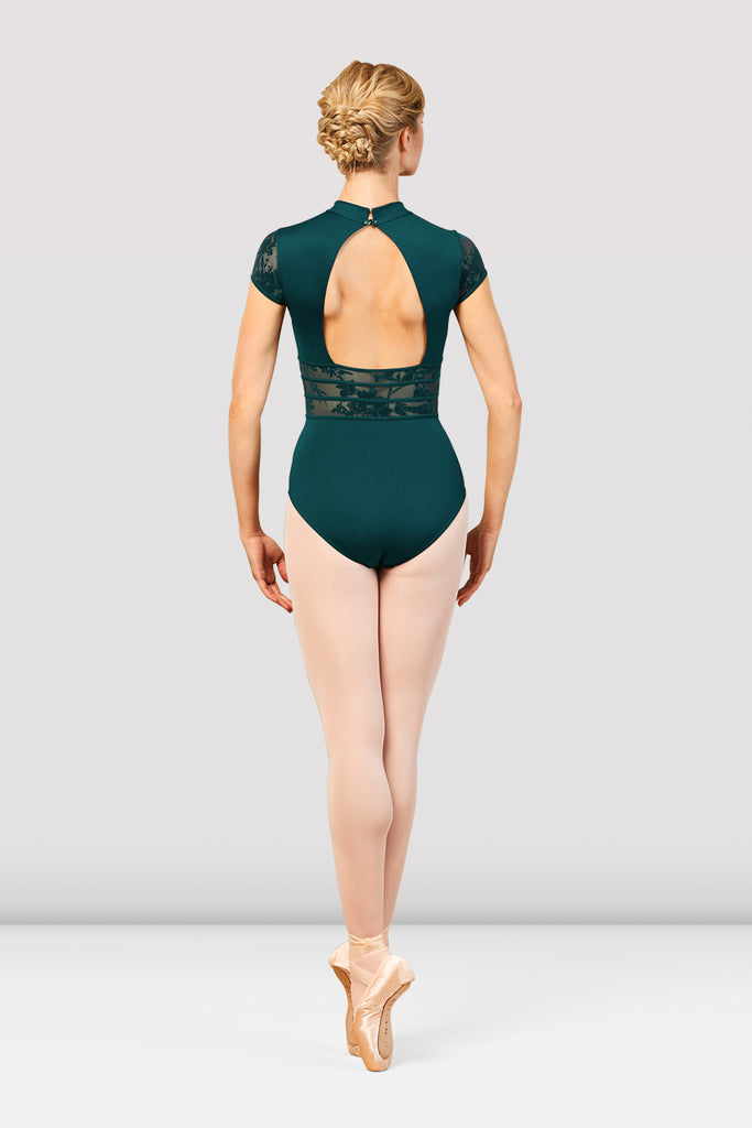 Ladies Boutique Mesh Detail Leotard