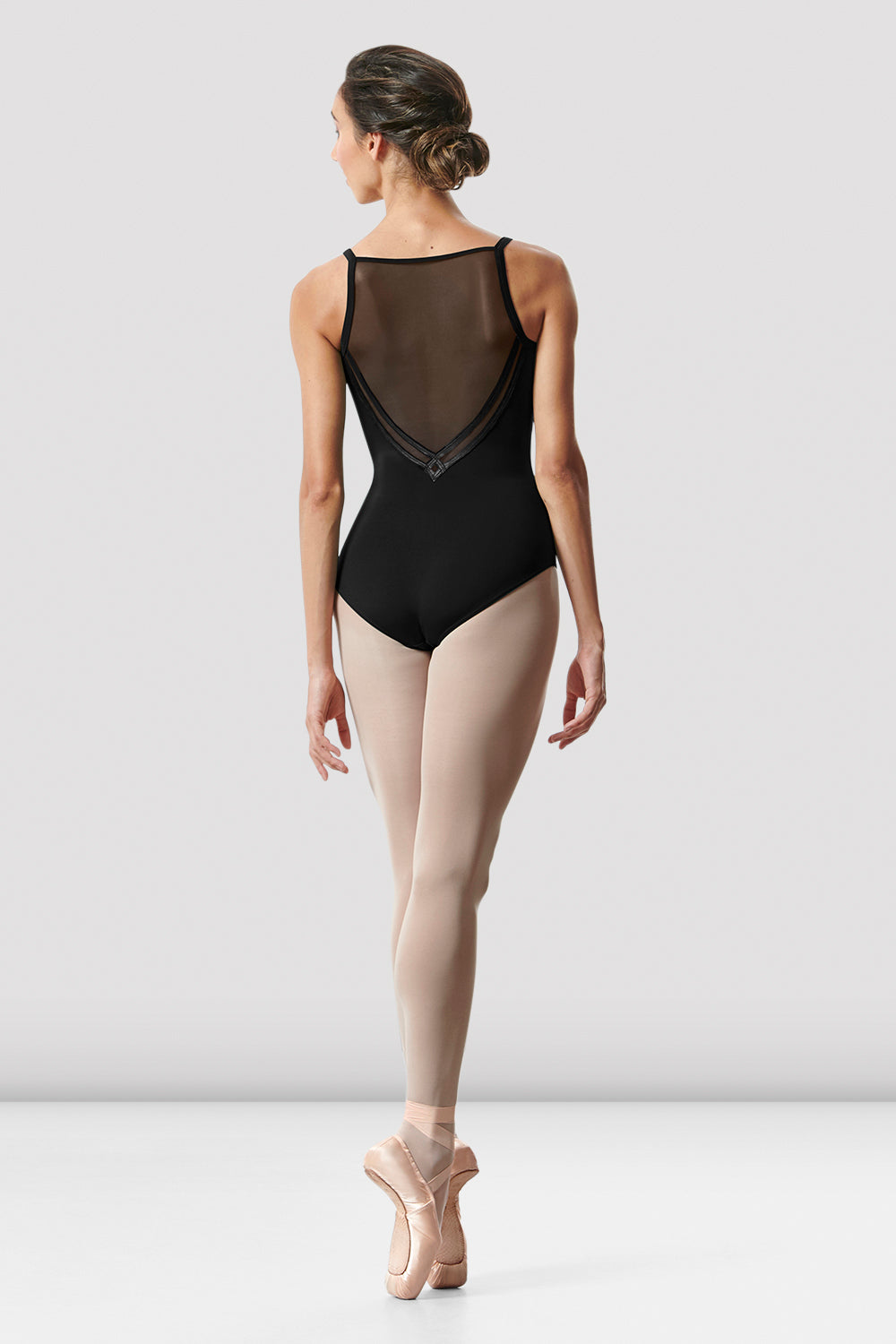 Ladies Kora Camisole Mesh Back Leotard