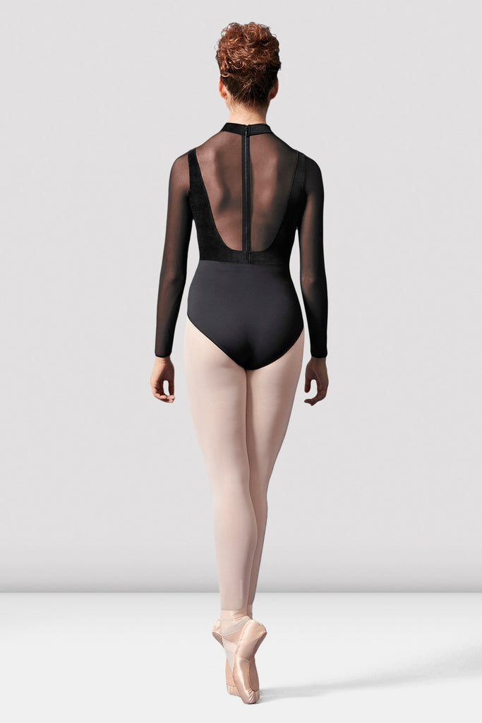 Ladies Mirella Sweetheart Velvet Leotard